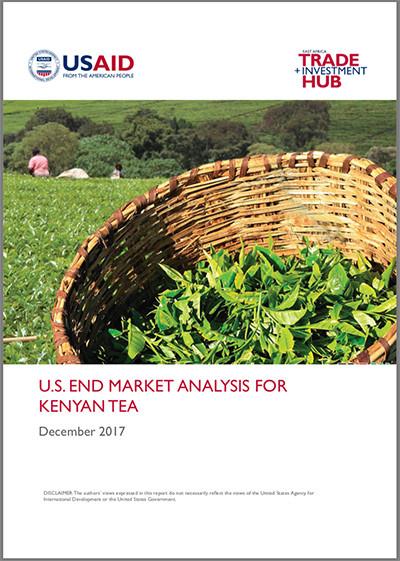 US end-market analysis for Kenyan tea