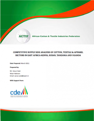 Report on competitive supply side analysis of CTA sectors in Kenya, Sudan, Tanzania and Uganda 2011 (ACTIF-2011)