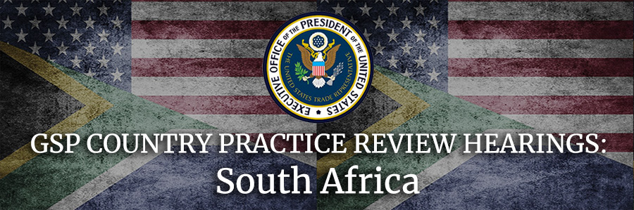 us southafrica review hearingsGSO 900