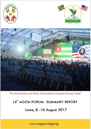 AGOA Forum 2017: Brochure and Photos