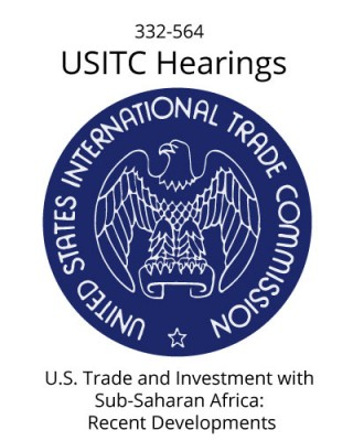 USITC 23 January 2018 Hearings - His Excellency Mninwa J. Mahlangu, Embassy of the Republic of South Africa