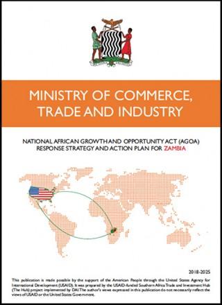 Zambia - National AGOA Strategy 2018-2025