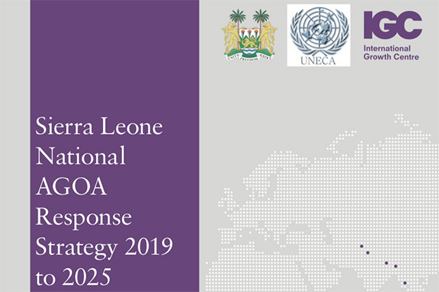 Sierra Leone to launch its AGOA response strategy