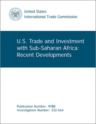 US trade and investment with Africa: recent developments