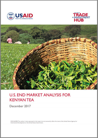 US end-market analysis for Kenyan tea