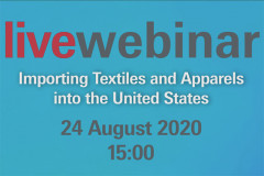 Event: Live webinar on importing textiles and apparels into the US