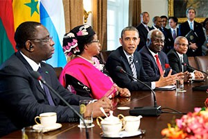 Obama sees US opportunities in Africa