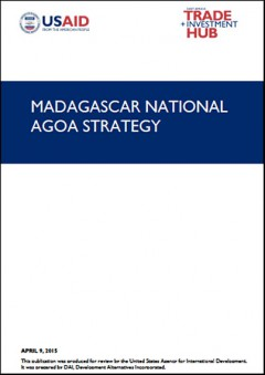 Madagascar - National AGOA Strategy