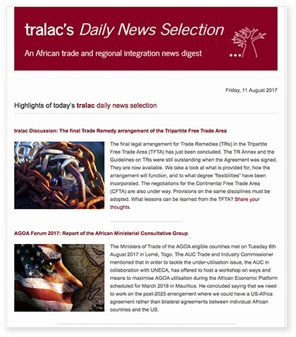 Trade Law Center (tralac) Newsletter
